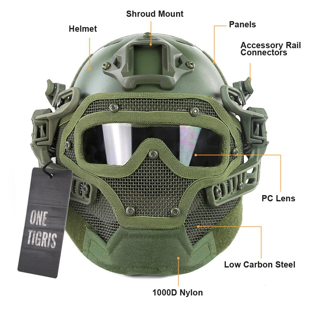 The 10 Best Tactical Helmets Of 2018 Reviews Amp Buyer S Guide